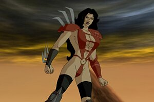 Julie strain in heavy metal fakk 2